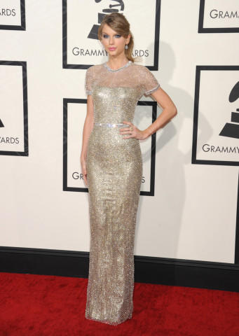 Taylor Swift - Los Angeles - 26-01-2014 - Vade retro abito! Le scelte ai Grammy Awards 2014