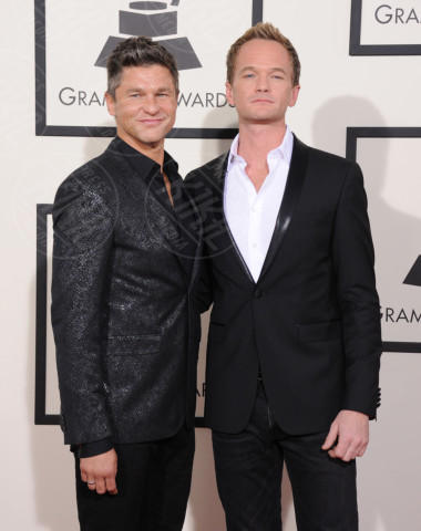 Patrick Harris, David Burtka - Los Angeles - 26-01-2014 - Grammy Awards 2014: un red carpet all'insegna dell'amore