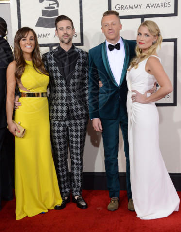 Macklemore - 26-01-2014 - Grammy Awards 2014: un red carpet all'insegna dell'amore