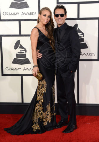 Chloe Green, Marc Anthony - 26-01-2014 - Grammy Awards 2014: un red carpet all'insegna dell'amore