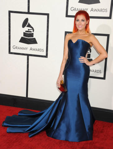 Bonnie McKee - Los Angeles - 26-01-2014 - Vade retro abito! Le scelte ai Grammy Awards 2014