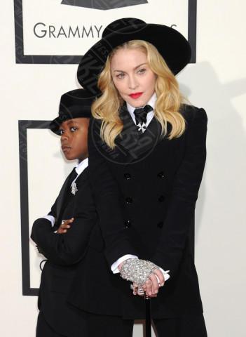 David Banda, Madonna - Los Angeles - 26-01-2014 - Madonna, sono già 60. Auguri Lady Ciccone