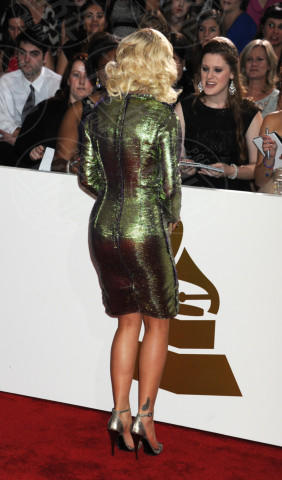 Rita Ora - Los Angeles - 26-01-2014 - Vade retro abito! Le scelte ai Grammy Awards 2014
