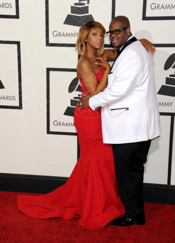 Vincent Herbert, Tamar Braxton - Los Angeles - 26-01-2014 - Grammy Awards 2014: un red carpet all'insegna dell'amore