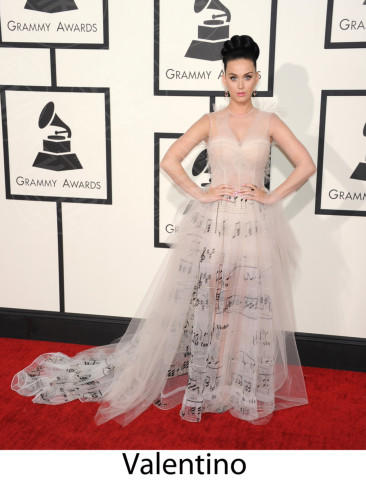 Katy Perry - Los Angeles - 26-01-2014 - Grammy Awards 2014: gli stilisti sul red carpet
