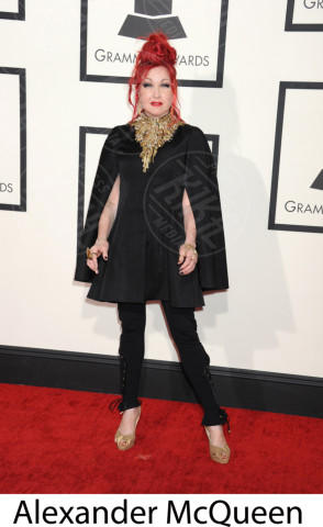 Cyndi Lauper - Los Angeles - 26-01-2014 - Grammy Awards 2014: gli stilisti sul red carpet
