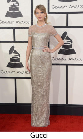 Taylor Swift - 26-01-2014 - Grammy Awards 2014: gli stilisti sul red carpet