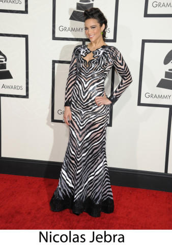 Paula Patton - Los Angeles - 26-01-2014 - Grammy Awards 2014: gli stilisti sul red carpet