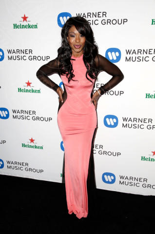 Porscha Coleman - Los Angeles - 26-01-2014 - Vade retro abito! Le scelte ai Grammy Awards 2014