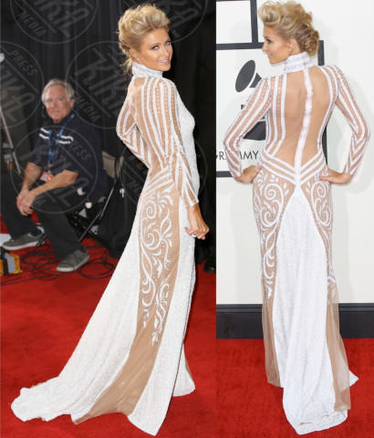 Paris Hilton - Los Angeles - 27-01-2014 - Vade retro abito! Le scelte ai Grammy Awards 2014
