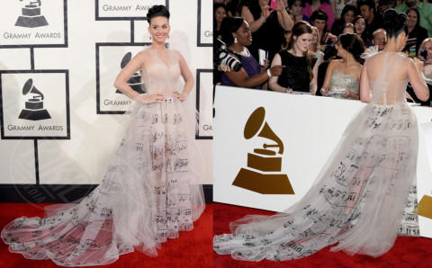 Katy Perry - Los Angeles - 27-01-2014 - Vade retro abito! Le scelte ai Grammy Awards 2014