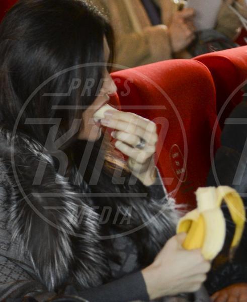 Manuela Arcuri - Roma - 09-01-2014 - L'unico frutto dell'amor…è la banana!