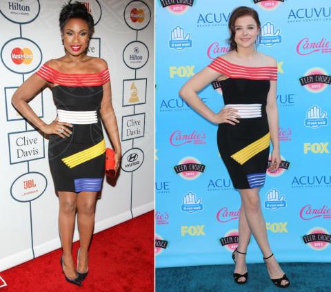 Chloe Grace Moretz, Jennifer Hudson - Beverly Hills - 26-01-2014 - Jennifer Hudson e Chloe Grace Moretz: chi lo indossa meglio?