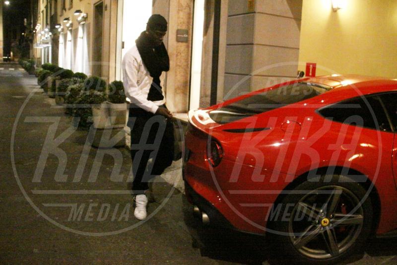 Mario Balotelli - Milano - 28-01-2014 - A Hollywood sono tutti matti per la Ferrari