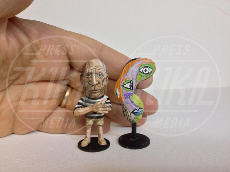 Nocciolina americana, Pablo Picasso - Kentucky - 28-01-2014 - Le celebrity? Sono un pugno di… noccioline!