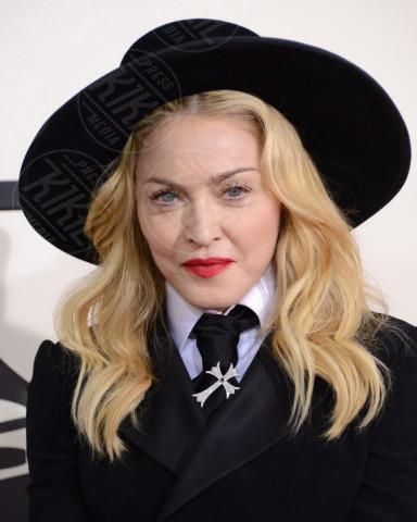 Madonna - Los Angeles - 26-01-2014 - Donne con le gonne? No: con la cravatta!
