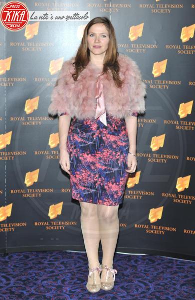 Jessica Hynes - Londra - 19-03-2013 - Calda e colorata: è la Venere in ecopelliccia!