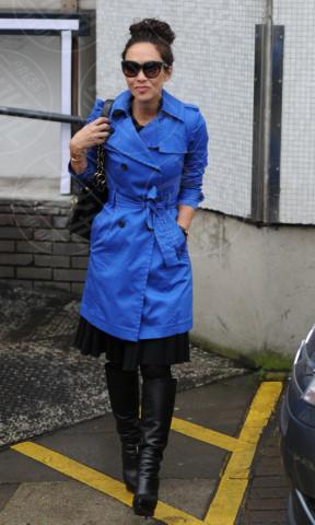 Myleene Klass - Londra - 31-01-2014 - L'autunno è alle porte: è tempo di trench!