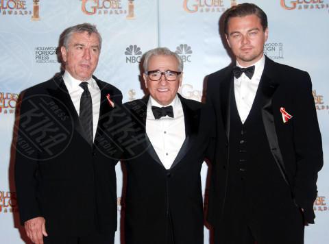 Martin Scorsese, Robert De Niro, Leonardo DiCaprio - Beverly Hills - 17-01-2010 - Sodalizio attore regista, squadra che vince non si cambia