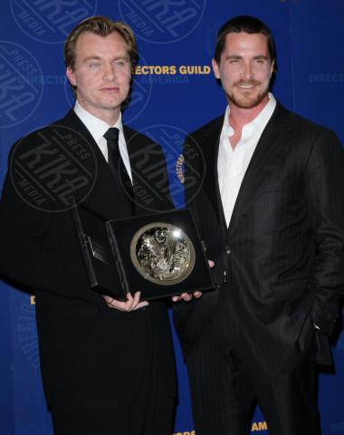 Christopher Nolan, Christian Bale - Century City - 31-01-2009 - Christopher Nolan prepara un film sull'Operazione Dynamo