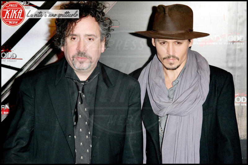 Tim Burton, Johnny Depp - Los Angeles - 16-01-2008 - Animali fantastici e dove trovarli: il divo entra nel cast