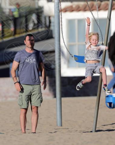 Alexander Schreiber, Liev Schreiber - Los Angeles - 01-02-2014 - Star come noi: amore, vieni che ti porto al parco!
