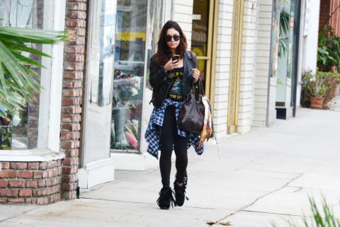 Vanessa Hudgens - Los Angeles - 03-02-2014 - Ogni giorno una passerella: Gwen Stefani senza trucco