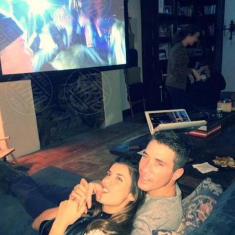 Brian Perri, Elisabetta Canalis - Los Angeles - 30-01-2014 - Dillo con un tweet: Balotelli alza di nuovo la cresta