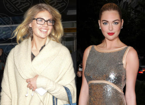 Kate Upton - New York - 20-11-2012 - Quando il trucco non c'è… si vede eccome!