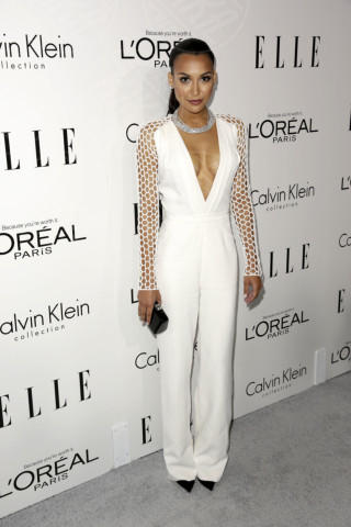 Naya Rivera - Los Angeles - 22-10-2013 - La tuta glam-chic conquista le celebrity