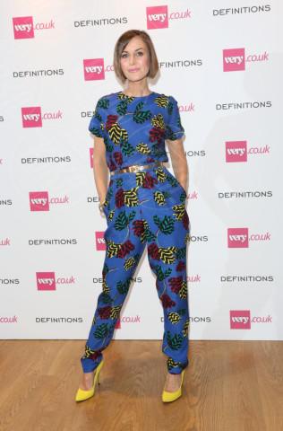 Katherine Kelly - Londra - 04-09-2013 - La tuta glam-chic conquista le celebrity