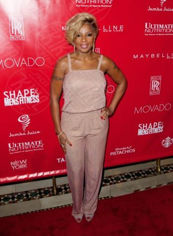 Mary J. Blige - New York - 31-01-2014 - La tuta glam-chic conquista le celebrity