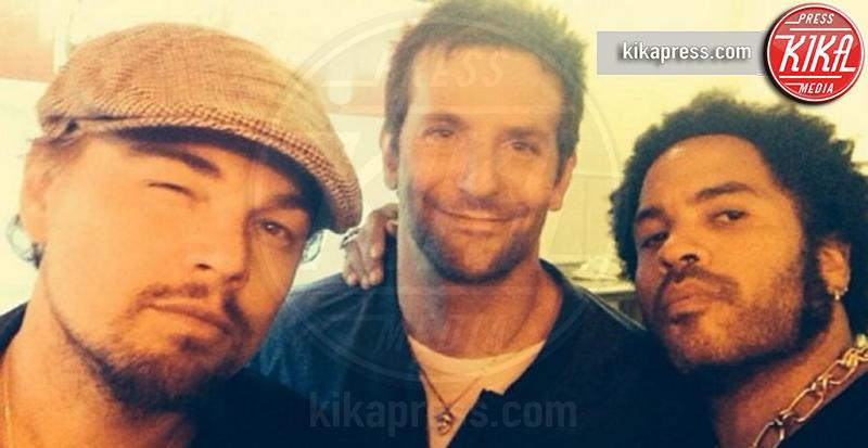 Lenny Kravitz, Bradley Cooper, Leonardo DiCaprio - Los Angeles - 05-02-2014 - Bebe Vio e Barack Obama: un'altra selfie-magia