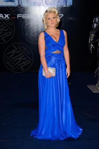 Natalie Coyle - Londra - 05-02-2014 - Accendi l'autunno con il blu elettrico!