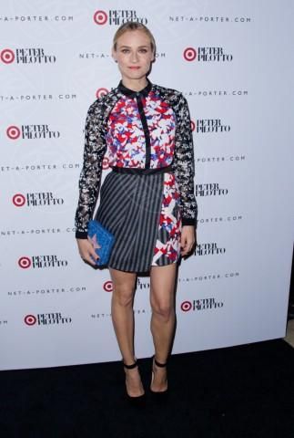 Diane Kruger - New York - 06-02-2014 - Primavera bon ton: tutte preppy-chic con il colletto