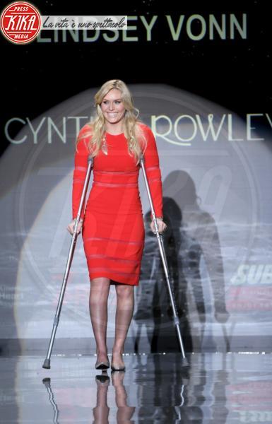 Lindsey Vonn - New York - 06-02-2014 - A far le celebrities ci si rimette la salute