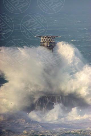 Charlie - Cornovaglia - 08-02-2014 - La super tempesta Charlie vista dall'alto
