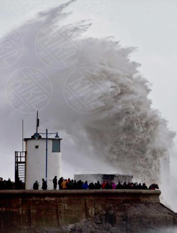 Charlie - Porthcawl - 08-02-2014 - La super tempesta Charlie vista dall'alto