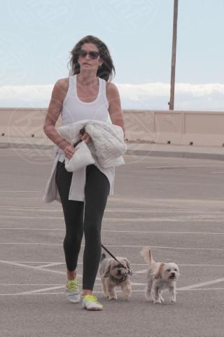 Cindy Crawford - Malibu - 08-02-2014 - Anche i VIP in spiaggia con i fidati amici a quattro zampe