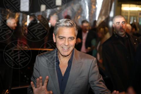 George Clooney - Milano - 09-02-2014 - Clooney, multa per chi si avvicina a Villa Oleandra
