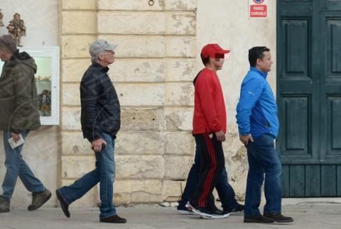 Homer Gere, Richard Gere - Lecce - 07-02-2014 - Le star che non sapevi avessero avuto figli in tarda età
