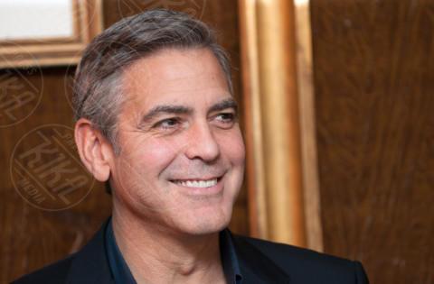 George Clooney - Parigi - 12-02-2014 - Sinistra, destra o centro? Lo schieramento politico dei vip