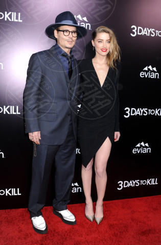 Amber Heard, Johnny Depp - Hollywood - 12-02-2014 - Johnny Depp sarà protagonista de L'Uomo Invisibile