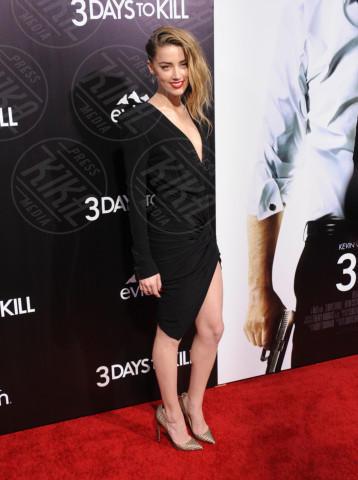 Amber Heard - Hollywood - 12-02-2014 - Le gambe: elementi di fascino da ostentare anche d'inverno