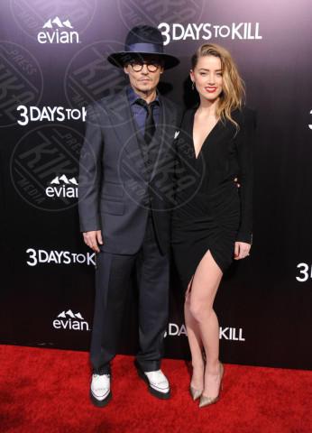 Amber Heard, Johnny Depp - Hollywood - 12-02-2014 - Erin Foster: dalla relazione con Samantha Ronson a Harry Styles