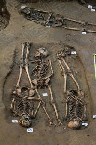 Scavi Uffizi - Firenze - 13-02-2014 - Un cimitero del V secolo scoperto sotto gli Uffizi