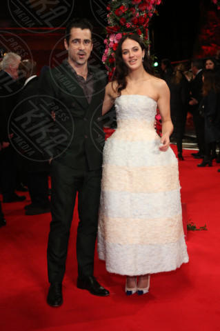 Jessica Brown Findlay, Colin Farrell - Londra - 13-02-2014 - Vade retro abito! Jessica Brown Findlay in Christian Dior