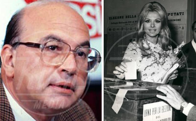 Bettino Craxi, Sandra Milo - 05-05-1968 - Le dive amano i potenti? Forse è il contrario