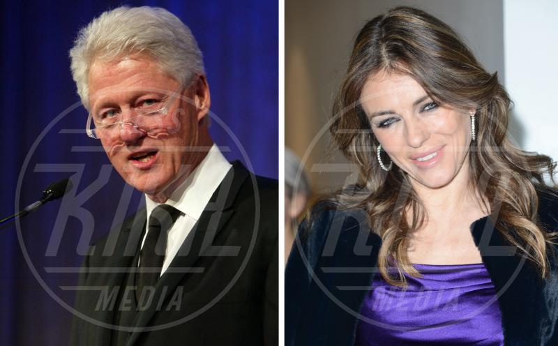 Bill Clinton, Elizabeth Hurley - Londra - 30-01-2014 - Le dive amano i potenti? Forse è il contrario