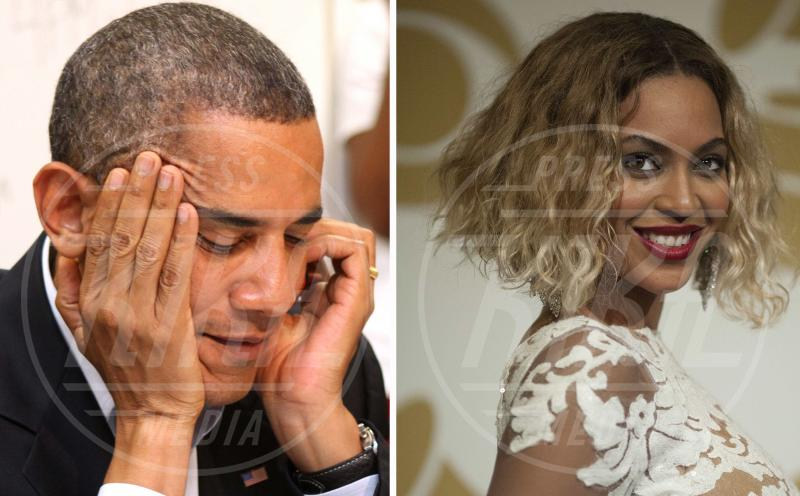 Barack Obama, Beyonce Knowles - Los Angeles - 26-01-2014 - Le dive amano i potenti? Forse è il contrario